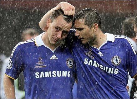 Sony fanboys losing to Manchester United in the 2008 Champion's League final on May 21st